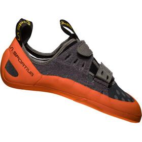 La Sportiva GeckoGym Scarpe da arrampicata Uomo, carbon/tangerine